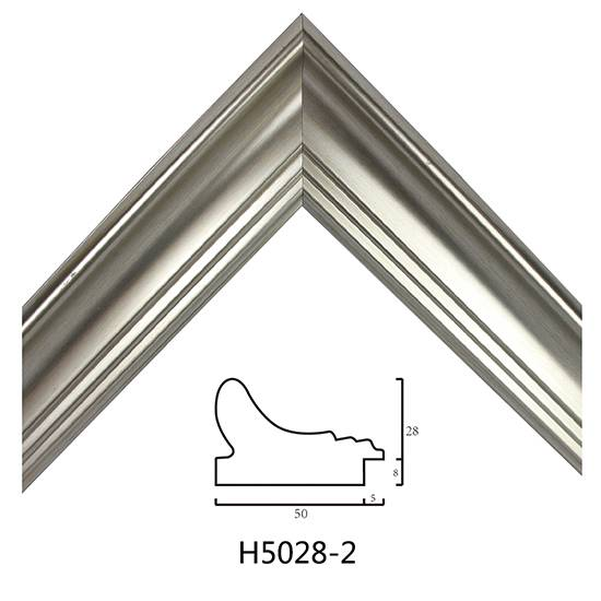 Plastic Picture Frame Moulding H5028 In China