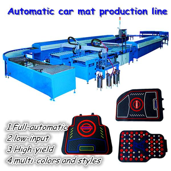 Multi-colors car mat machinery/factory price/high efficiency