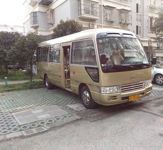 2000 Japan's original Sightseeing Bus and Car Coaster Toyota Mini bus for hot sale