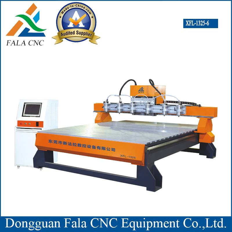 CNC Engraving Machine CNC Router for Woodworking (Xfl-1325-6)