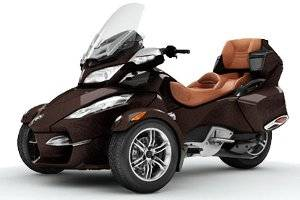 2012 Can-Am Spyder RT Limited three Wheels Motorcycle