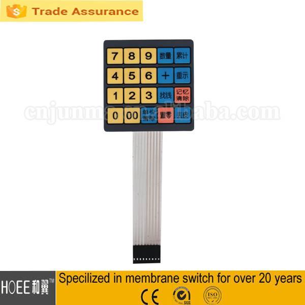 membrane switch/keypad