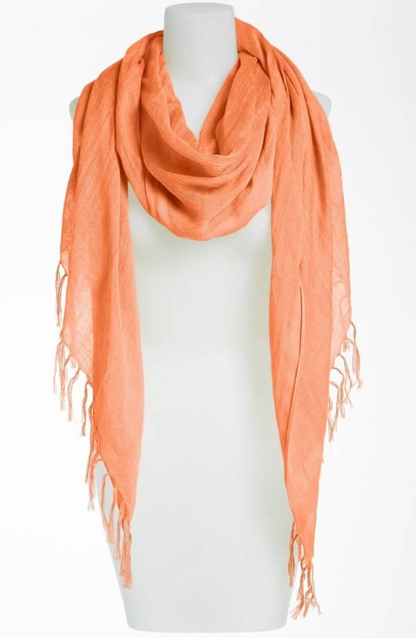 New Design Wholesale Linen Blend Scarf Supplier