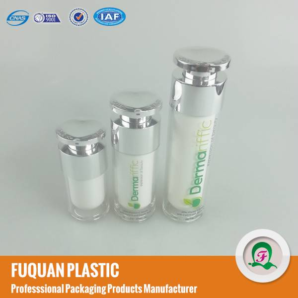 Hot wholesale new style acrylic airless lotion bottle from China