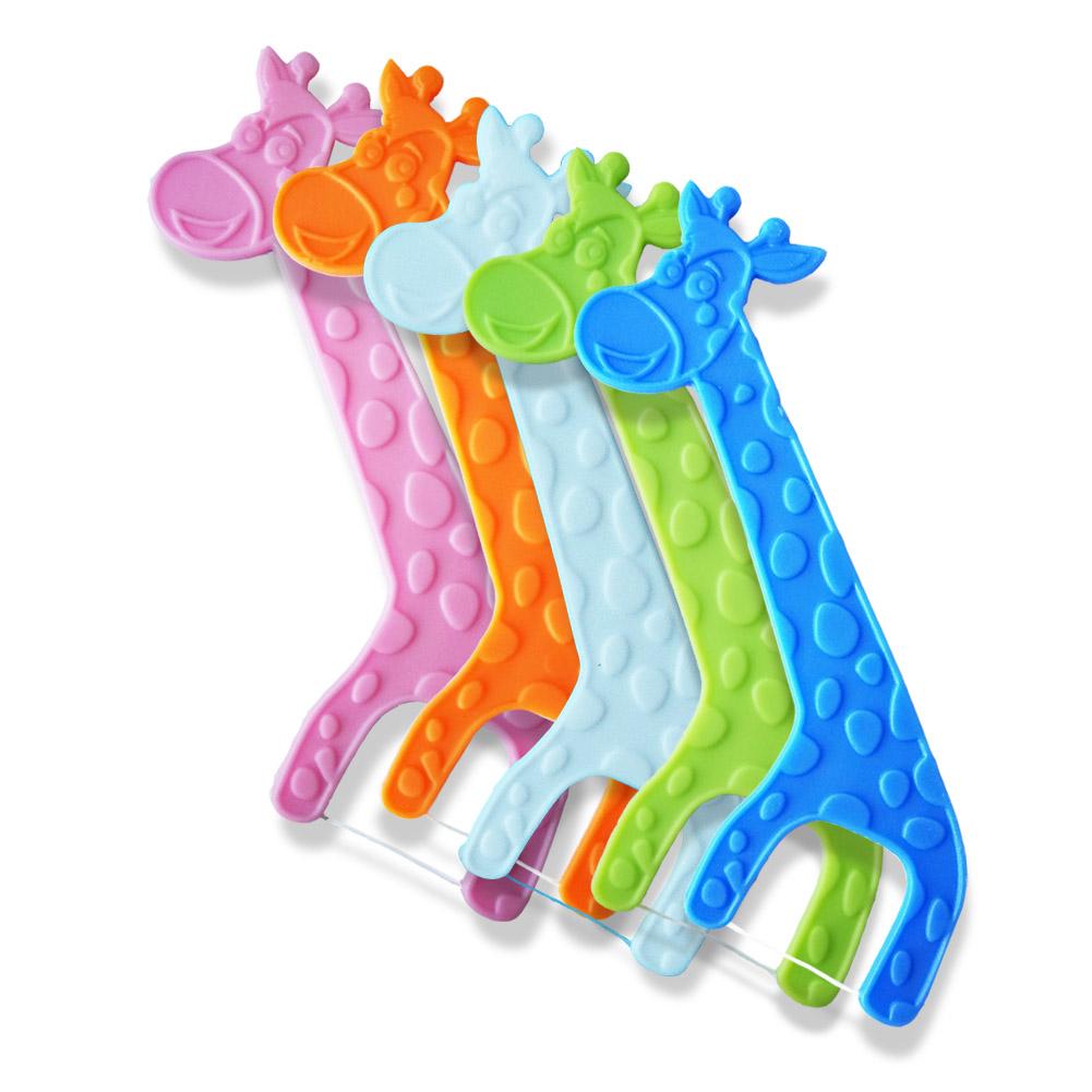 Certified Children Dental Floss Picks for Kids