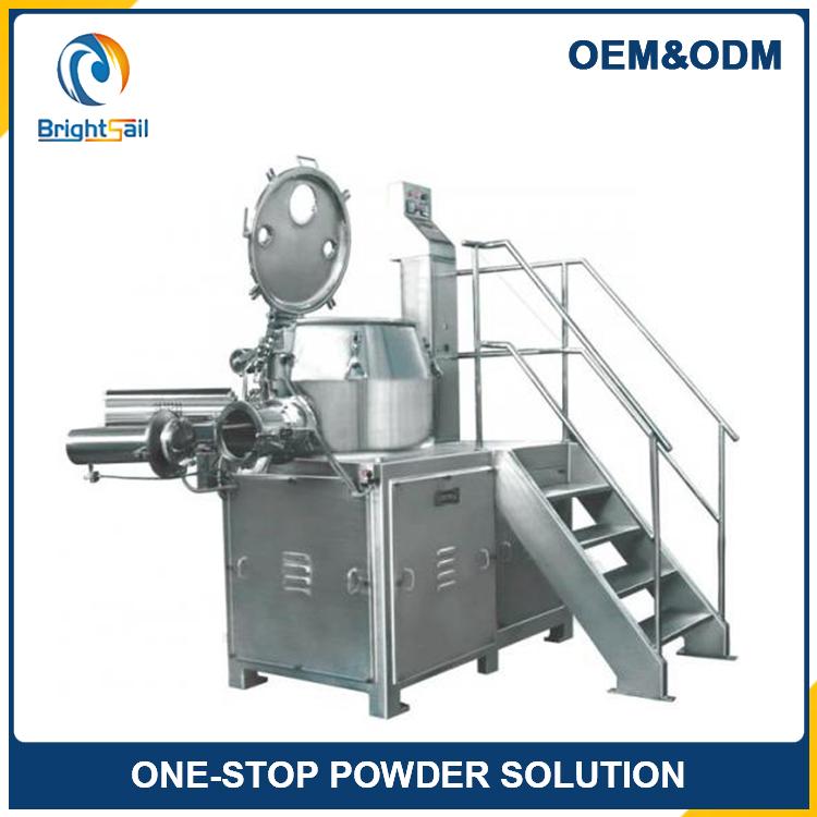 Pharmaceutical High Speed Wet Material Super mixer Granulator machine