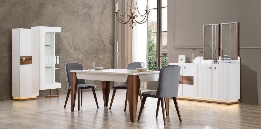 Modern 2017 High Quality New Design Cheap Dining Room Set