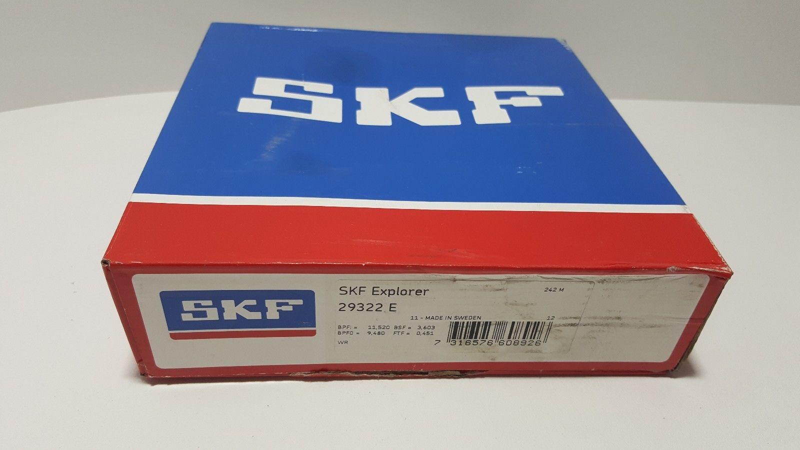 SKF 29322E, Spherical Roller Thrust Bearing