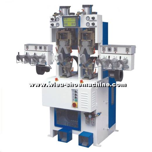 Xx0488 Steam Model Backpart Moulding Machine-shoe machine