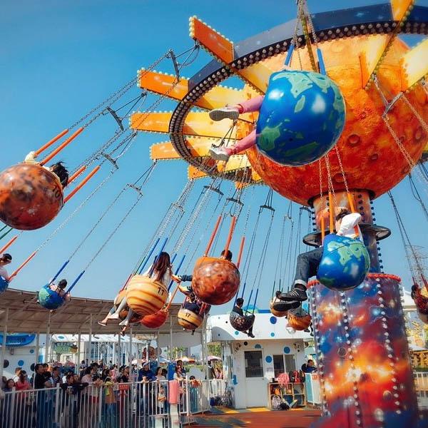 Fruit Flying Chair Ride HFSF01--Hotfun Amusement rides