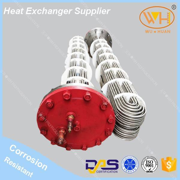 WNS series shell and tube condenser (Signle system)