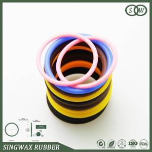 Supply silicone o-rings are complete in specifications