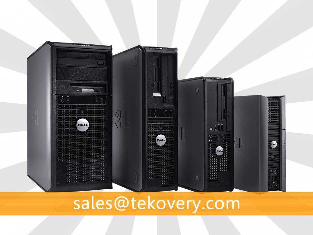 Used Dell OptiPlex 745 Desktops