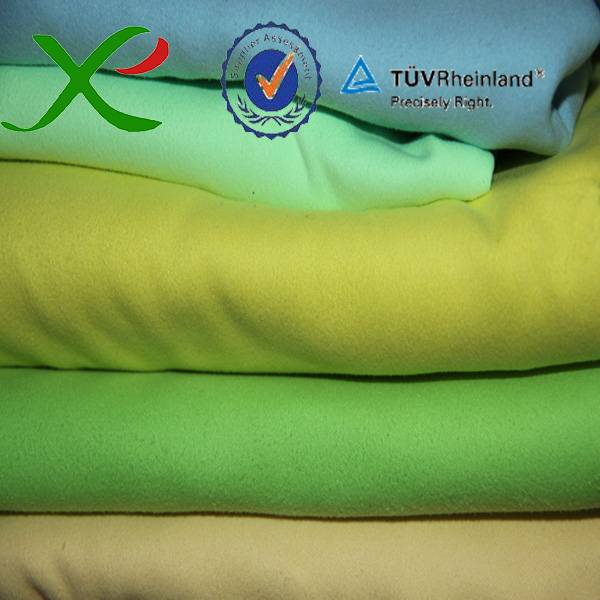 Polyester Nylon Suede
