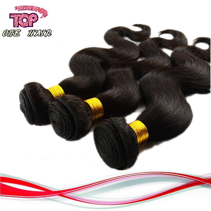 100% brazilian human virgin hair body wave human hair extension