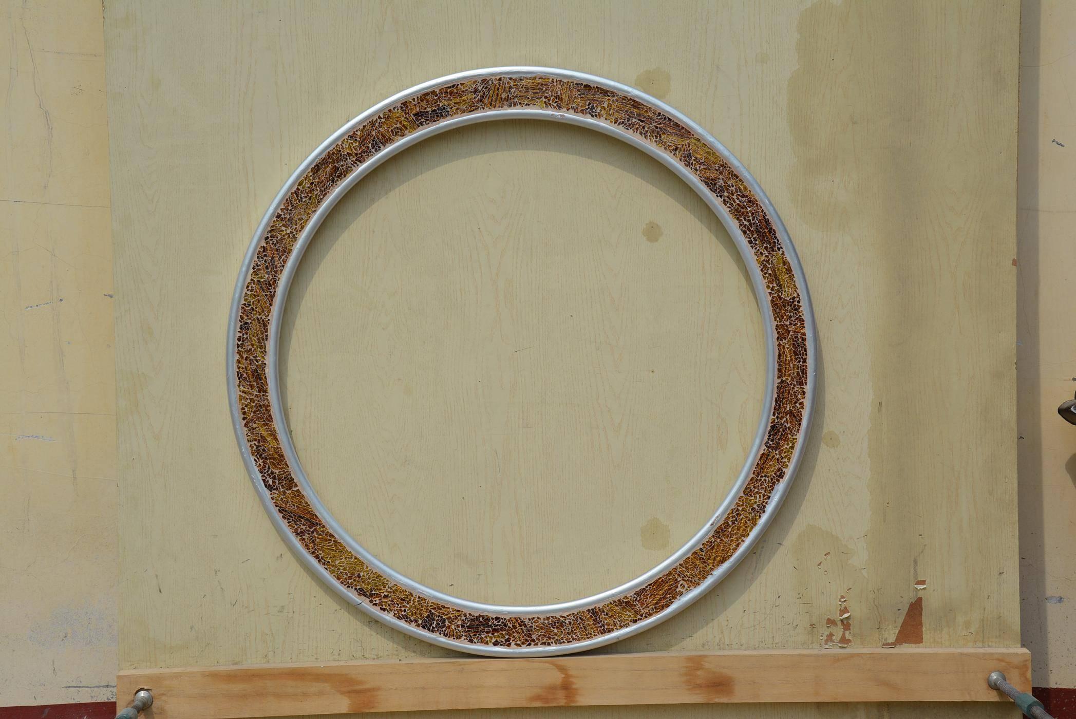 round masic mirror frames