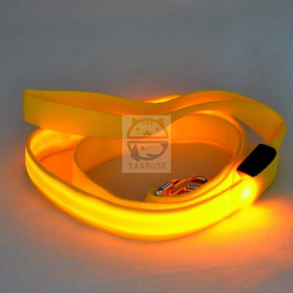 2016 hot sale New Fashion Led Dog Pet Collar Led night flahing leashes