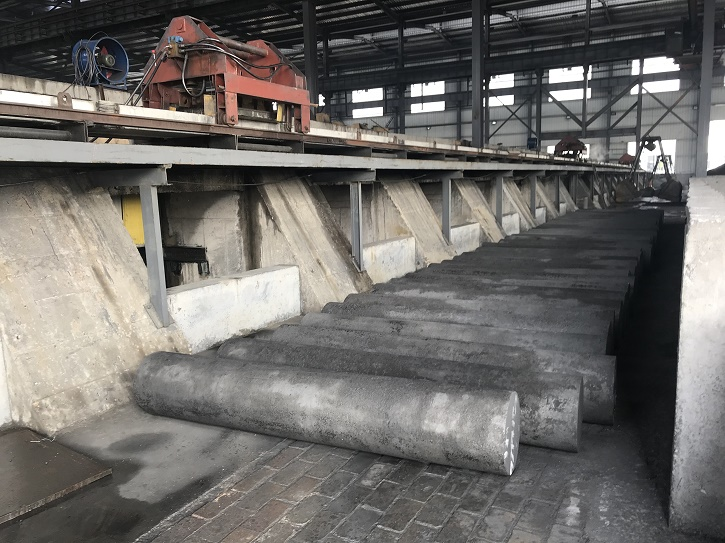 UHP Electrodes Graphite used by Steel Smelter-China Factory
