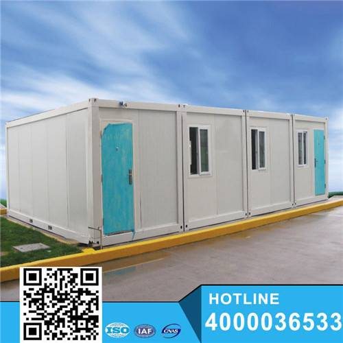 Ground floor for parking house container motel