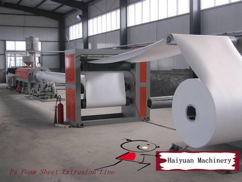 ps sheet making machine