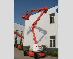 Articulated Boom Lift with Lifting Height 15.7m,Capacity 227kg(GTZZ 14EJ)