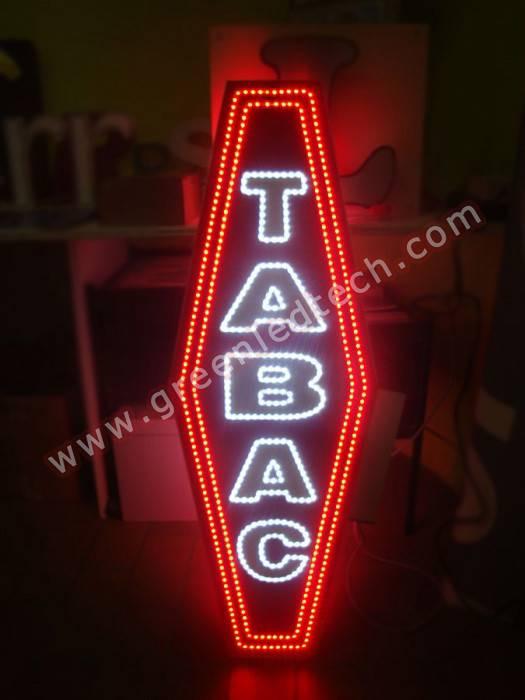 LED TABAC Sign