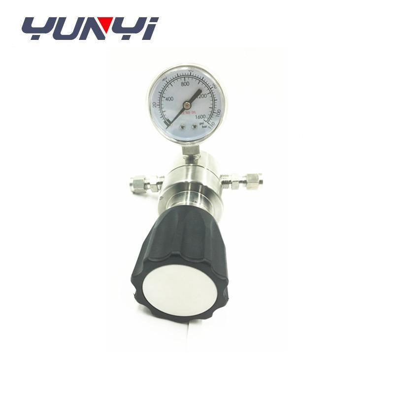 large flow back pressure regulator