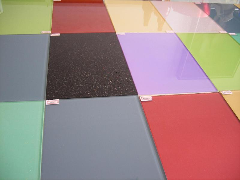3-8mm Color Lacquered Glass