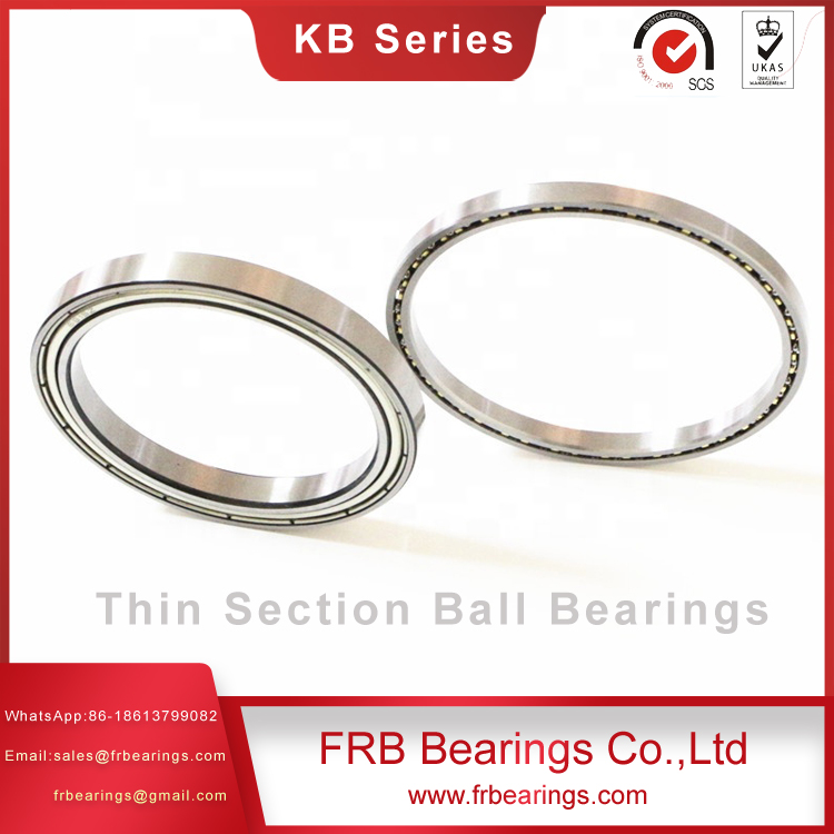 Stainless steel slim bearings-Four-point contact ball bearings SB Series