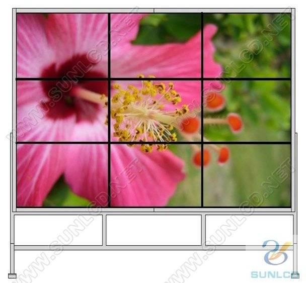 3*3 40 inch DID Wall LCD wall, DID wall, Screen wall, Narrow Bezel LCD display