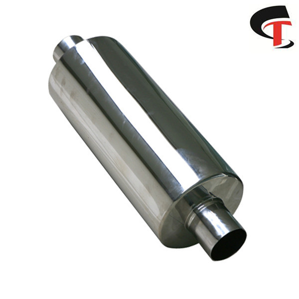 Hi-polished Auto Exhaust muffler