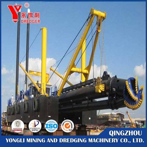 cutter suction gold mining dredger
