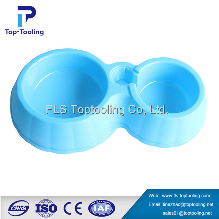 China New style High quality plastic injection mold for plastic pet feeding bowls