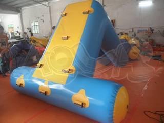 Inflatable Floating Blue Slide