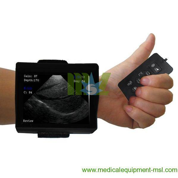 Wrist ultrasound scanner for human or veterinary- MSLVU12