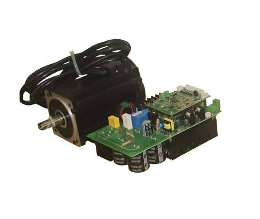 1KW 3600RPM brushless dc motor for CNCmilling machine