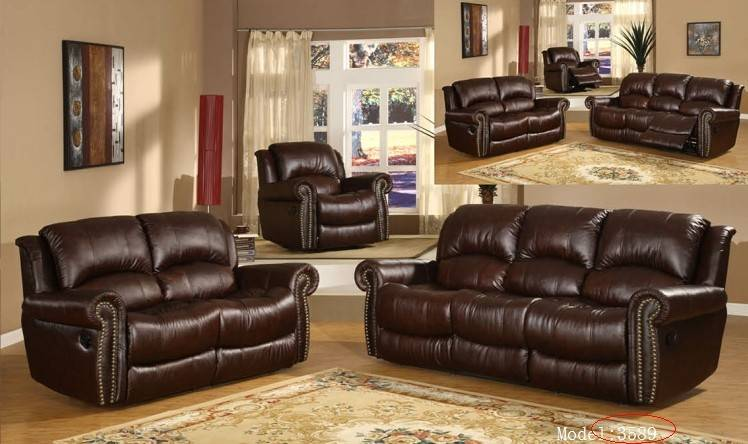 leather recliner sofa with fashion design and good selling