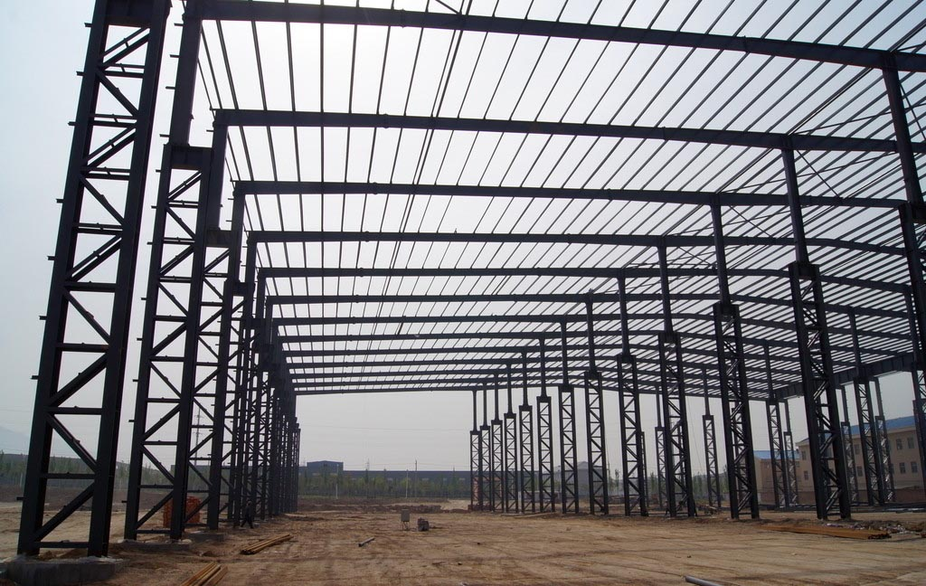 Fast building and long time used prefabricated warehouse