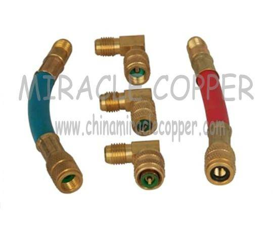 Refrigeration Parts Auto Charging Hoses Adapter CH-135
