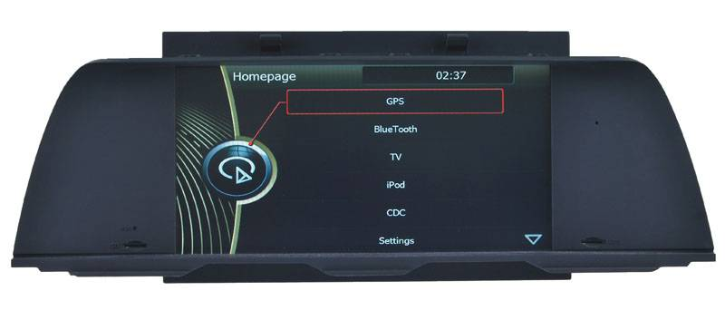 Auto audio BMW 5 F10 dvd Navigation gps player