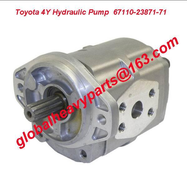 Toyota Forklift Hydraulic Gear Pump  67110-23871-71,Toyota 4Y Gear Pump