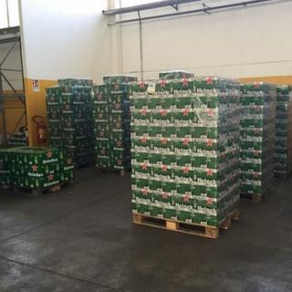 Heineken Beer in Bottles and Cans