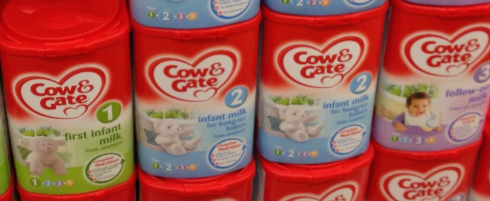 COW & GATE BABY MILK POWDER ALL STAGES