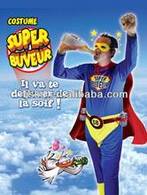 beer superman funny party costume