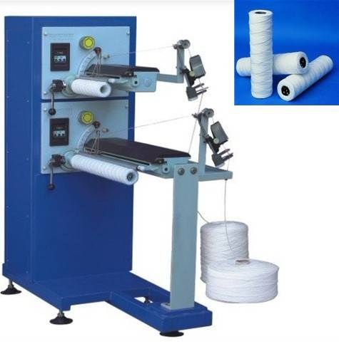 PP Winding Filter Cartridge Making Machine