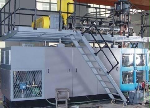 HDPE blow moulding machine-160L-tongchuangmachine@yahoo.cn