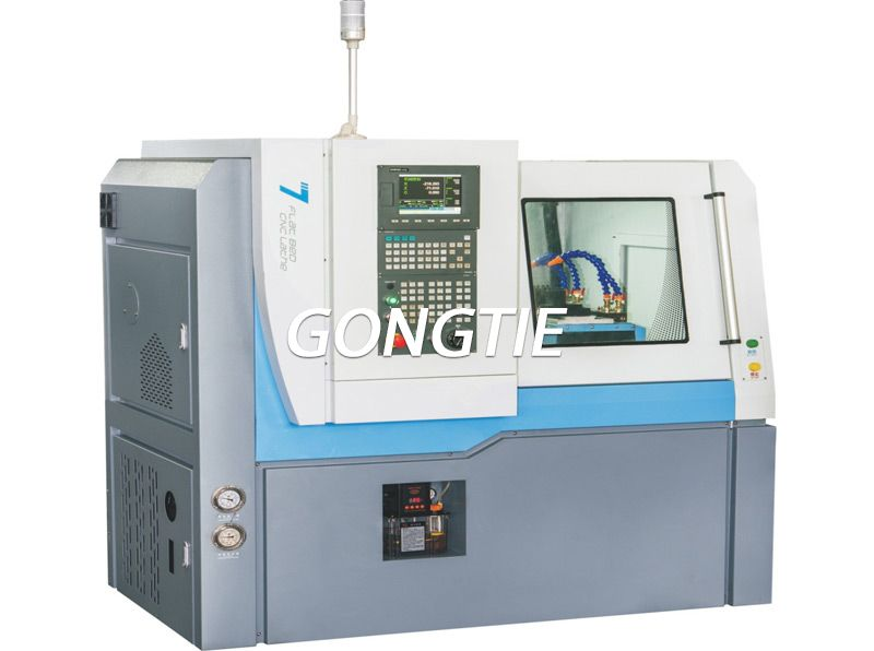 precision cnc lathe with lighting system