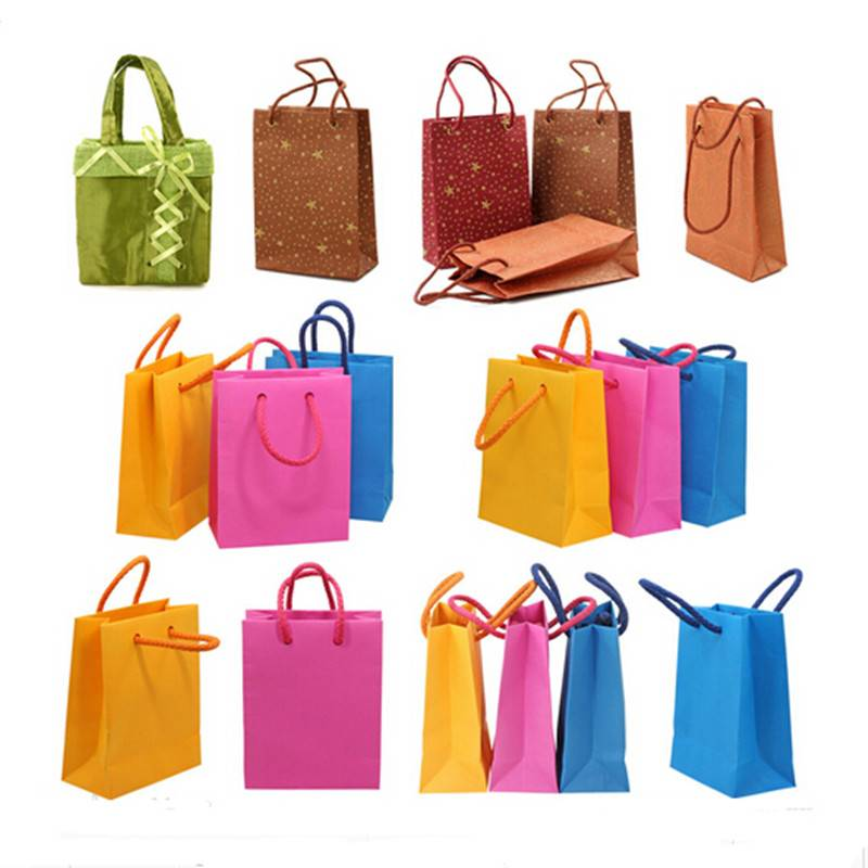 Carrier paper bag gift paper bag luxury shopping bag
