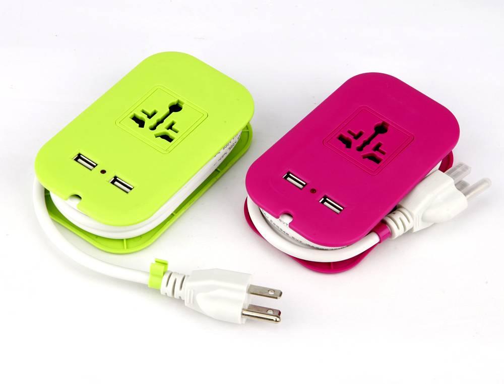 Electrical extension socket Universal plug socket