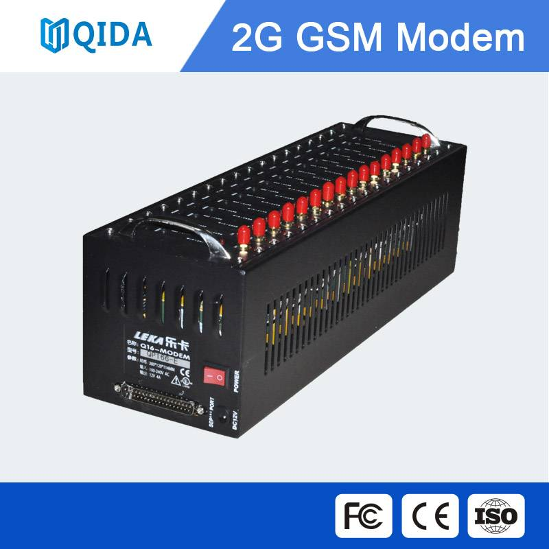 Multi sim card voice modem pool for voice call and voice broadcasting in low cost